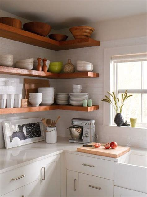 Kitchen Shelves And Cabinets by 10 Kitchens With Open Shelving House Mix