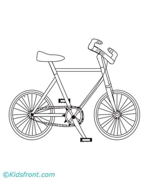 Cycling Printable Coloring Pages Coloring Pages Of Bikes