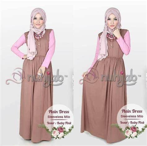 Gamis Dress Baju Muslim Murah Cewek Muslimah Syari 11 baju dress panjang pink ara dress aqaisiraagent