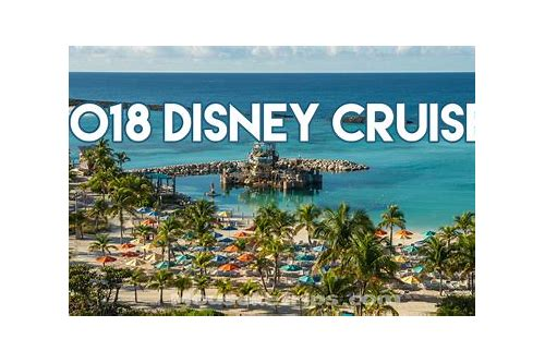 disney cruise deals for 2018