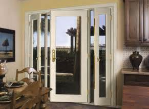 Patio Door With Side Windows Designs Vented Sidelight Patio Doors This Is What I Want To Replace My Sliding Glass Door With