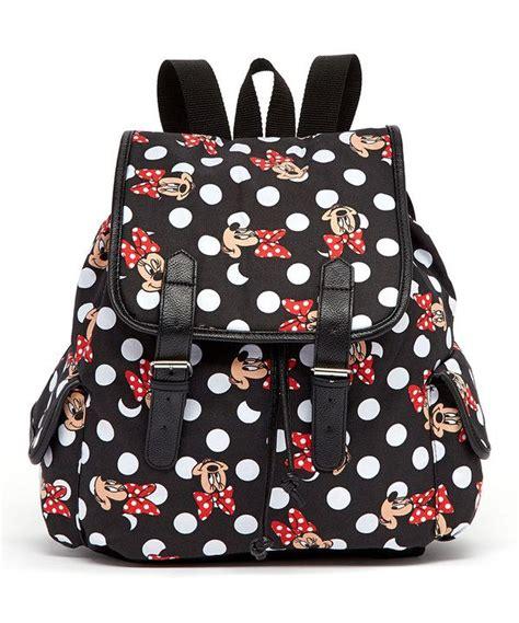 Backpack Set 3 In 1 Polka Pita minnie mouse black minnie mouse polka dot backpack
