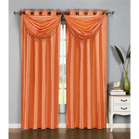 sheer opaque curtains window elements sheer wavy leaves embroidered sheer