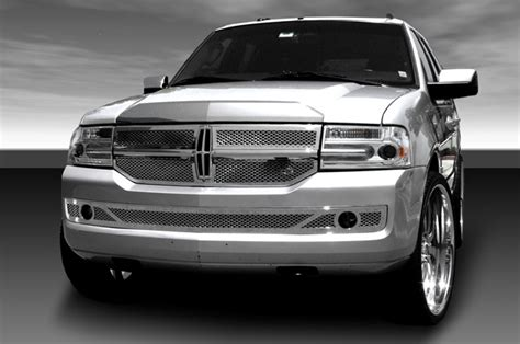 the grille lincoln lincoln custom billet grilles