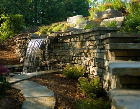 backyard rock wall best 25 pool retaining wall ideas on pinterest walk in