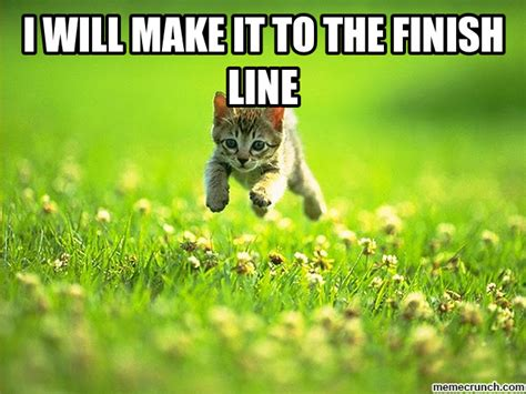 Finish It Meme - i will make it to the finish line