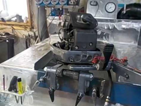 buitenboordmotor tank outboard motor test tank youtube