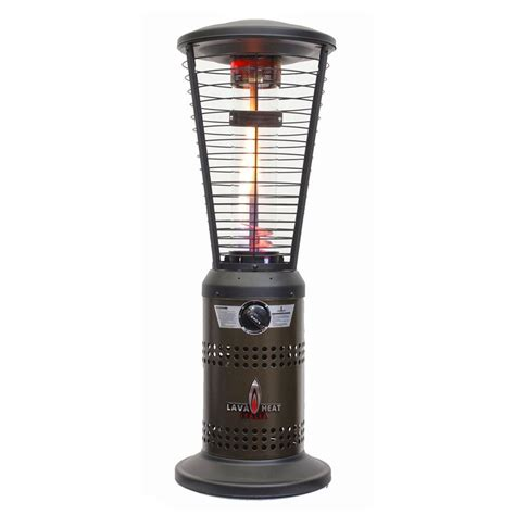 Lp Patio Heater Shop Lava Heat Italia 10000 Btu Heritage Bronze Stainless Steel Tabletop Liquid Propane Patio