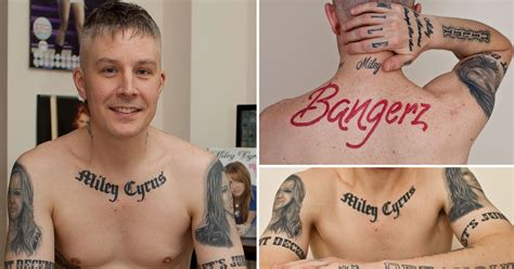 miley cyrus superfan carl mccoid miley cyrus superfan vows to tattoos of popstar