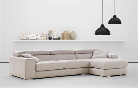 Adjustable Sectional Sofa Advanced Adjustable Leather Corner Sectional Sofa With Pillows Baton Louisiana Idp Italia