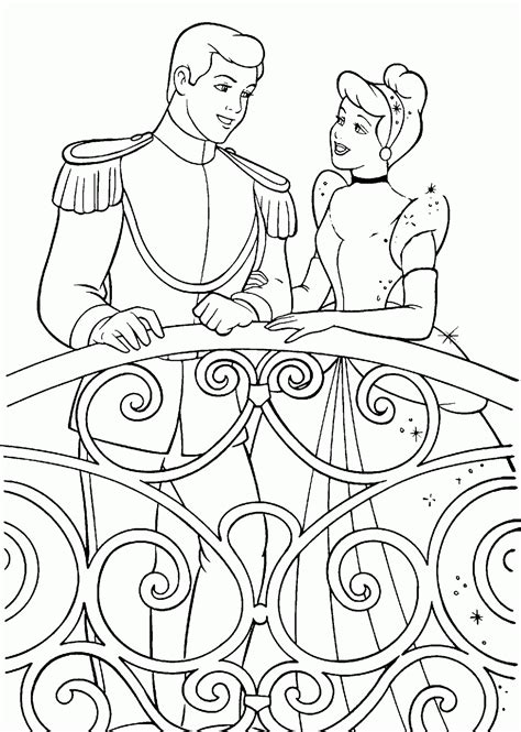 cinderella coloring page | Minister Coloring