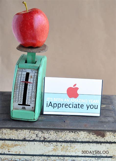 Printable Apple Gift Card - teacher gift idea apple gift card printable template