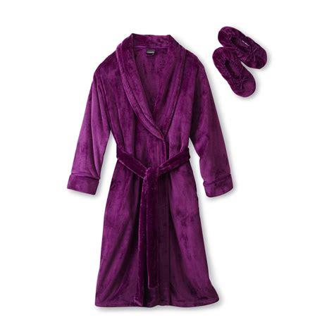 toddler bathrobe and slippers covington s plush bathrobe slippers
