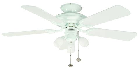 Ceiling Fan Lights Uk Ceiling Fan Mayfair Combi White With Light 107 Cm 42 Quot Ceiling Fans For Domestic And