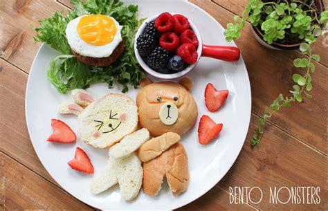 Food Drawing Dekorationpenghias Gambar Makanan Bento 23种妈妈做的日式可爱午餐造型 创意悠悠花园