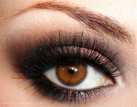 Eyeshadow Brown Smokey Eye Makeup Tips For Brown Images