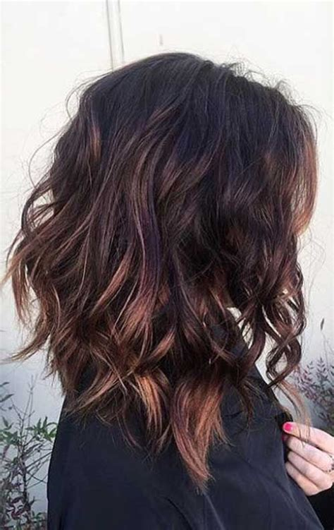 haircut with irregular length best 25 short brunette hairstyles ideas on pinterest