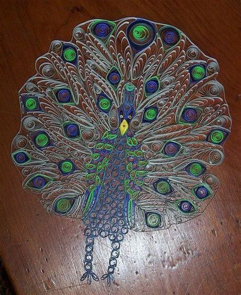 paper quilling peacock tutorial 468 best peacock quilled images on pinterest paper