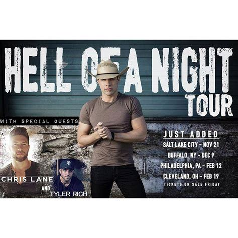 Hell Return 09 new dates added for chris on hell of a tour chris