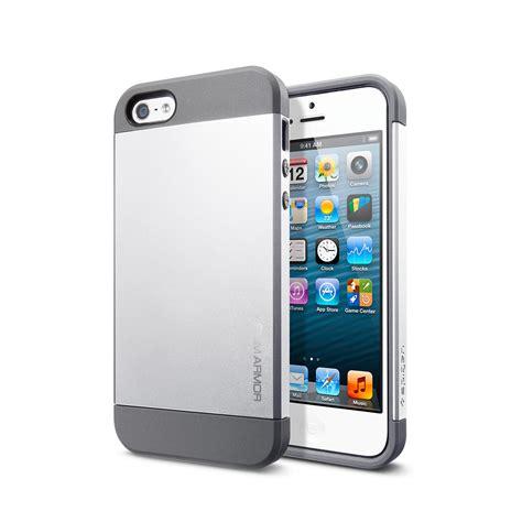 Casing Iphone 6 Armored Satin Premium iphone 5 slim armor satin silver spigen touch of modern