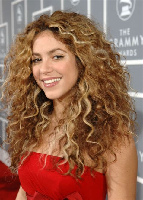 what color is shakira hair 2014 image gallery shakira real hair