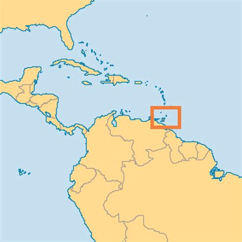 and tobago on the world map a f w i s gary miller ministries afwis joins operation