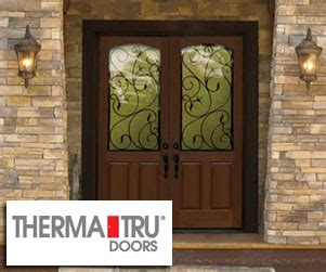 Therma Tru Impact Doors by Spruce Up Your Home With A Beautiful Therma Tru 174 Entry