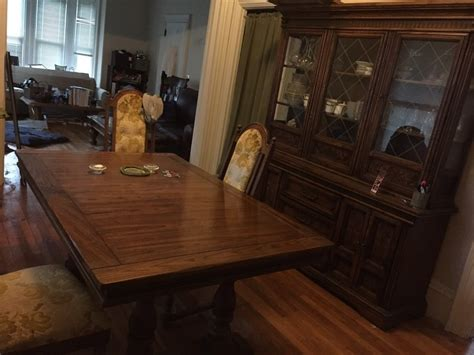 the s room burlington i a 1970 s burlington house dining room set in condition it my antique