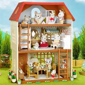 plays my cousin and sylvanian families on