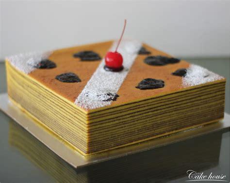 The Cake House Plain Lapis Legit lapis legit