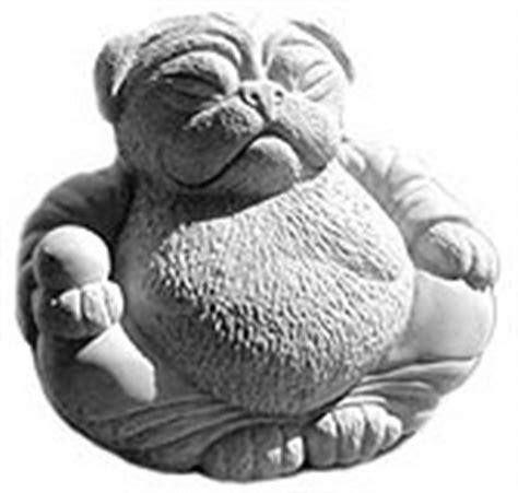 pug buddha statue lucky pug buddha statue