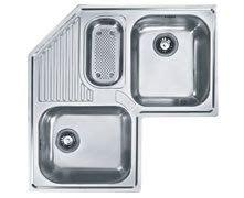 Franke Corner Kitchen Sinks by Franke 33 Quot Armonia Stainless Steel Top Mount Corner