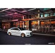 Stanced Audi A3 Sedan &187 CarTuning  Best Car Tuning Photos