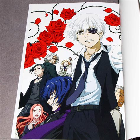 tokyo ghoul official anime book otakucouk