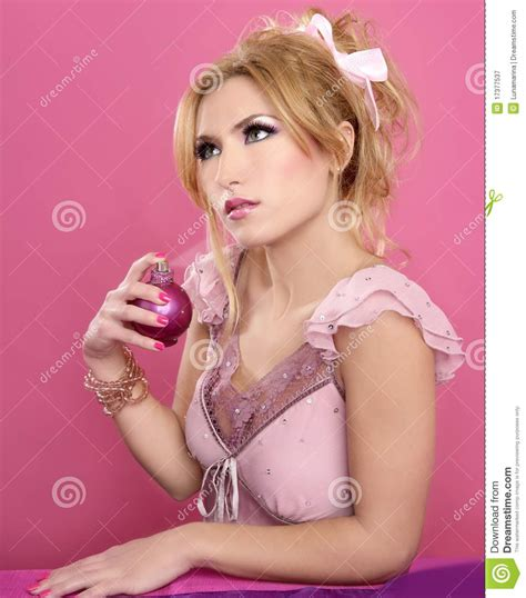 Retro Vanity Table by Fashion Retro Barbie Spray Perfume Bottle Royalty