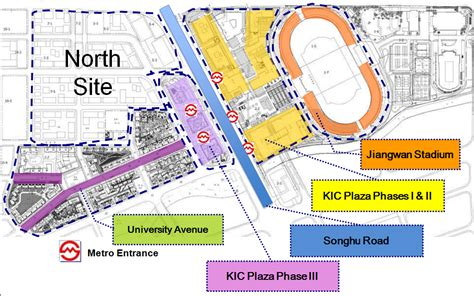 site plans innovation center south knowledge and innovation community uli case studies