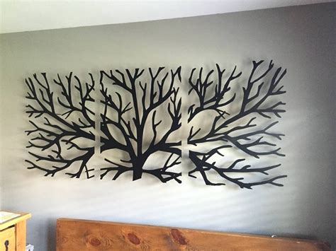 wall painting trees2018 best 20 of metal wall with crystals