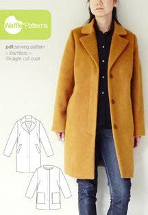 jacket pattern making pdf digital bamboo straight cut coat sewing pattern shop