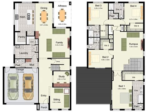 double storey floor plans best 10 double storey house plans ideas on pinterest