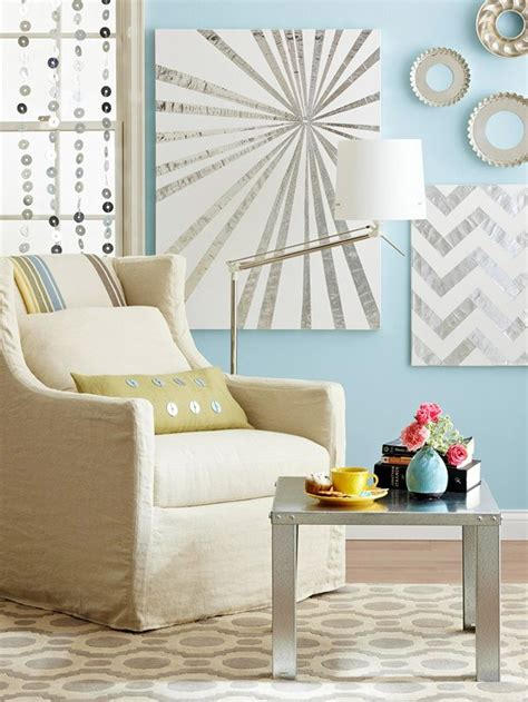 Home Artwork Decor Easy Diy Canvas Ideas For Beginners