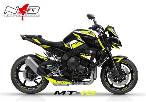 Yamaha Mt 125 Aufkleber by Mt10 Bikes Shop