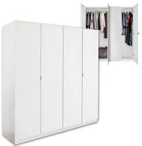 Standing Wardrobe Closet Alta 4 Door Wardrobe Closet Basic Package Free Standing