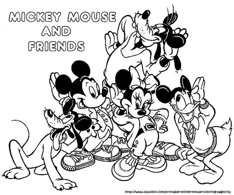 mickey and friends coloring pages timeless miracle com