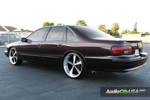 1996 chevy impala ss on 22 quot american racing wheels