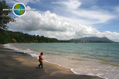 pantai pasir hitam langkawi malaysia