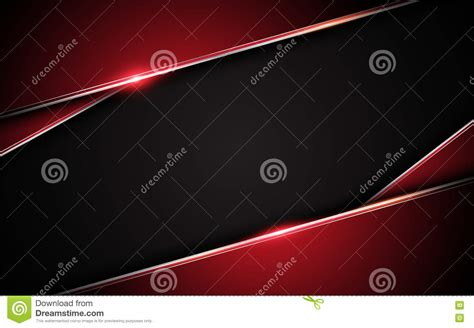 design concept background abstract metallic red black frame layout design tech