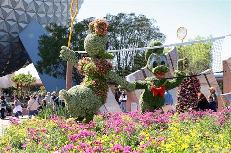 Many Reasons To Visit Walt Disney World Resort In 2016 Flower Garden Festival