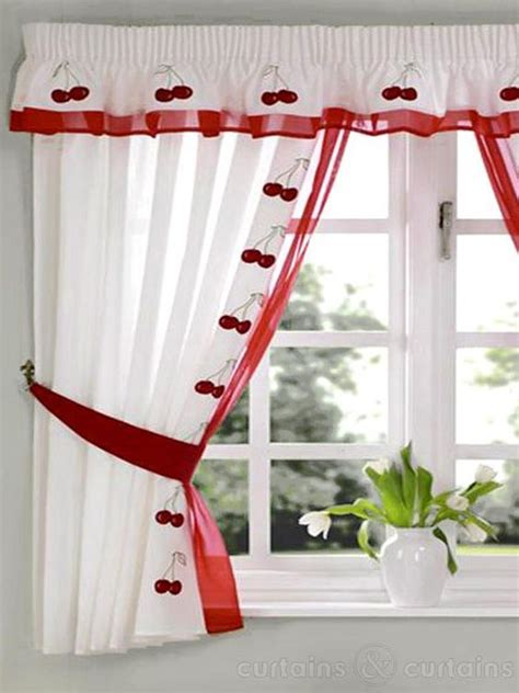 cherry red curtains pinterest the world s catalog of ideas