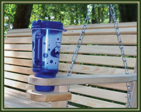 porch swing drink recipe porch swing plans cup holder furnitureplans