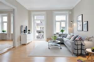 Cozy Living Room Design Scandinavian Apartment With Cream Walls 9 Modern Home